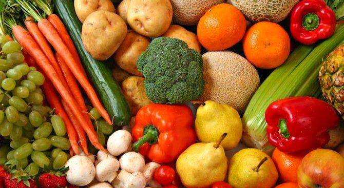 Цените на селскостопанската продукция намалели с 3.5% за година