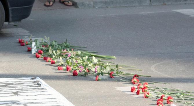 Дете издъхна след пътен инцидент край Ловеч (видео)
