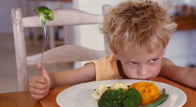 Злоядите деца имат психически проблем
