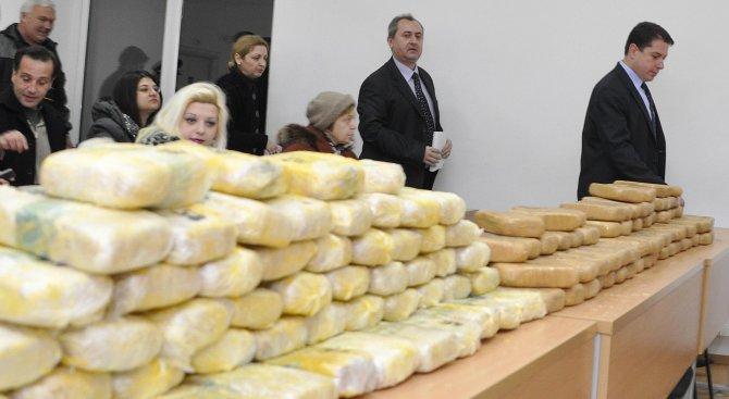 Окръжният съд в Бургас наложи 10 години лишаване от свобода за опит за контрабанда на наркотици