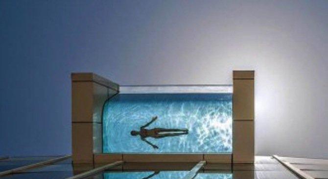 10 висящи във въздуха басейни (снимки)