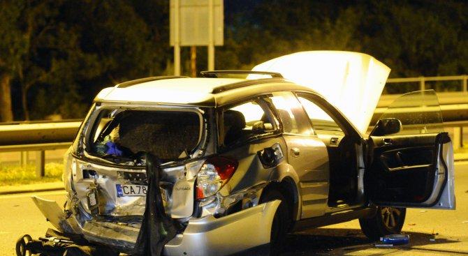 Млад мъж загина при жестока катастрофа в София