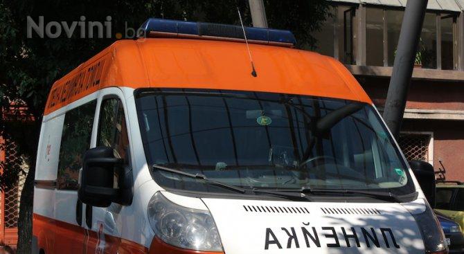 Петима чужденци в болница след катастрофа на пътя Хасково - Пловдив
