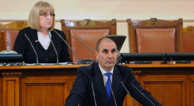 Цветанов: В България не трябва да допускаме явлението СИРИЗА и ПОДЕМОС