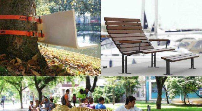 3 оригинални и креативни подхода към уличните мебели