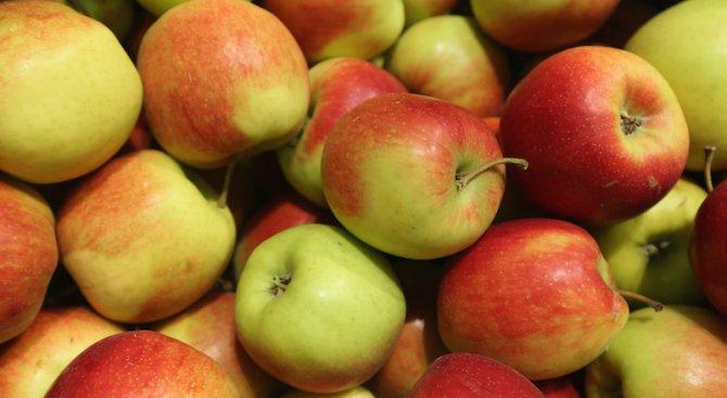 Ябълките поевтиняват, гроздето поскъпва