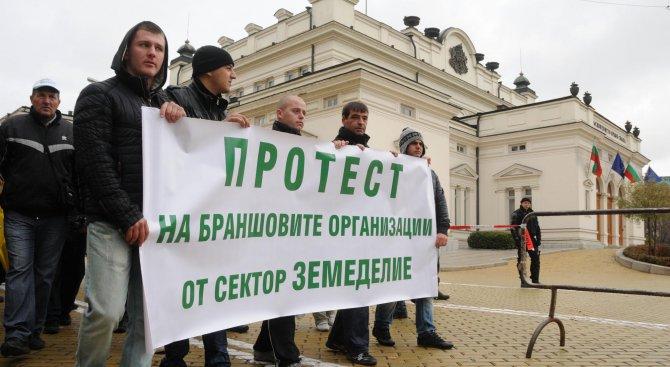Васил Грудев работи против нас, обявиха протестиращи земеделци (видео)