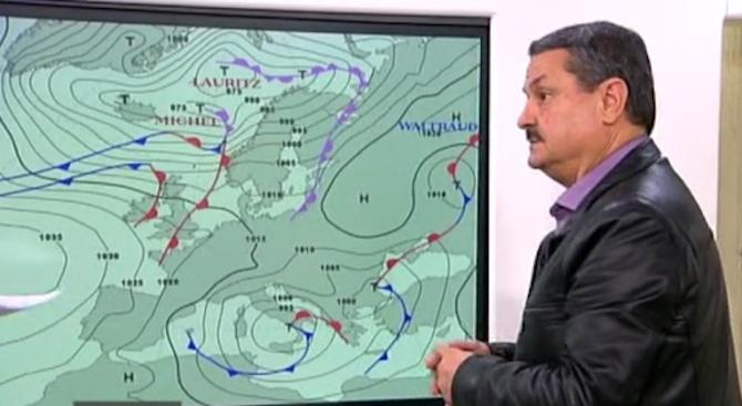 Климатолог: Сняг по Коледа няма да има