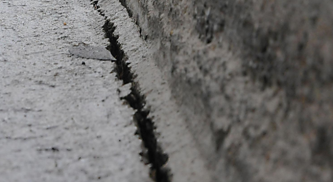 Къщи в Русе пред срутване заради ВиК авария