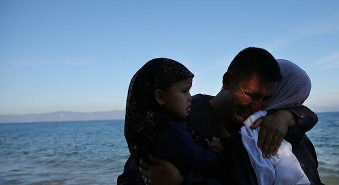 Деца на бежанци се удавиха край бреговете на Турция