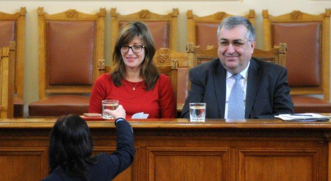 Близнашки: Захариева е рисков кандидат за правосъден министър