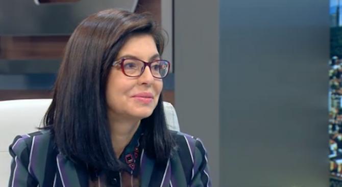 Нямам желание да ставам министър на правосъдието, увери Кунева