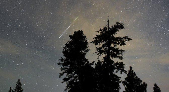 Най-големият метеоритен дъжд за годината ще е тази вечер