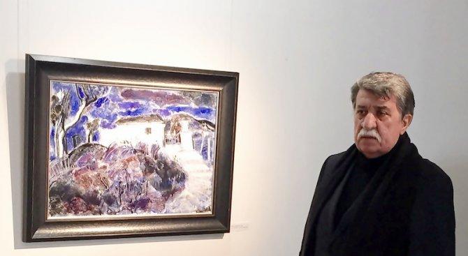 Вежди Рашидов посети изложбата си изненада (снимка)
