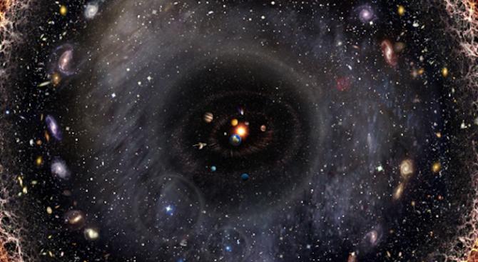 Художник събра цялата Вселена в едно изображение