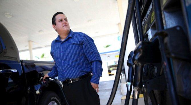 Мъж забрави съпругата си на бензиностанция