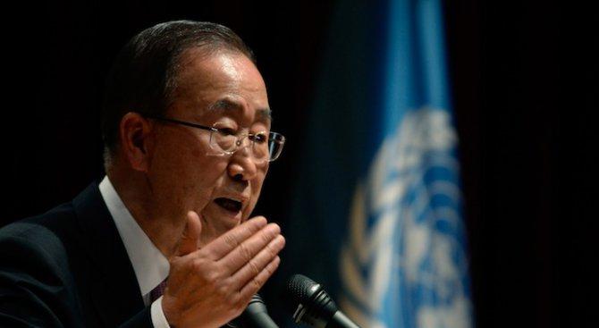 Бан Ки-мун призова Саудитска Арабия и Иран да постигнат компромис и да действат отговорно