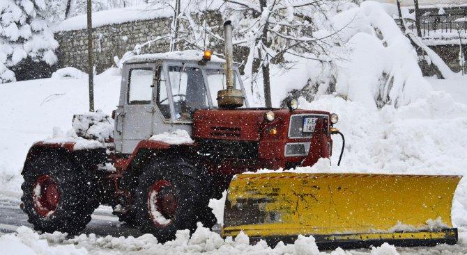 Наложена е санкция на снегопочистваща фирма от кмета на Берковица
