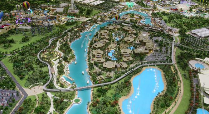 Дубай планира развлекателен парк за 2.8 млрд. долара