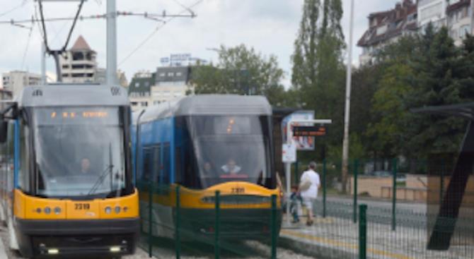 Променят движението на някои трамваи в столицата