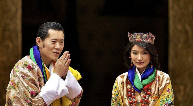 Бутан засади 108 000 дървета в чест на новия си принц