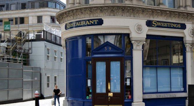 Най-старият рибен ресторант в Лондон любим на банкери и гангстери
