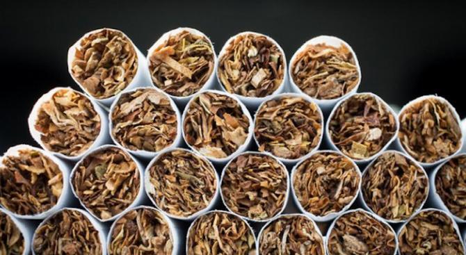 Иззеха 16 000 къса цигари без бандерол