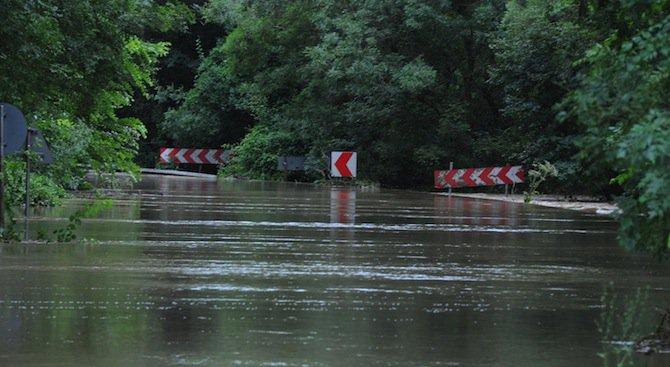 МОСВ предупреждава за повишения на водните нива в долните течения на реките