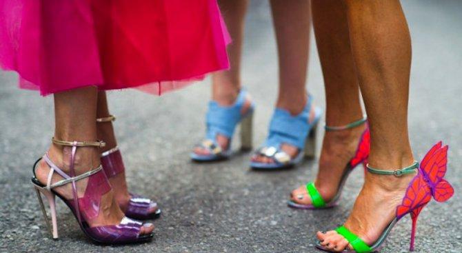 """Обувки, вдъхновени от """"Сексът и градът"""""""