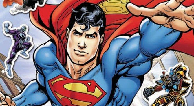 Супермен се приземява в книжарниците!
