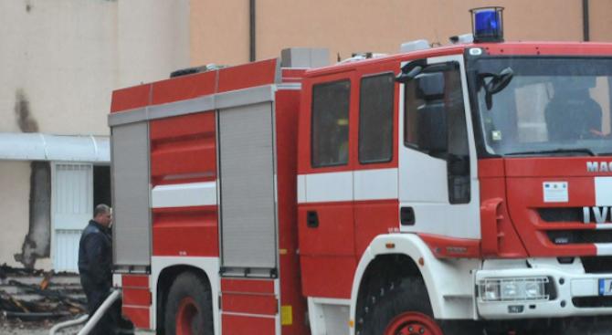 Пожар в апартамент в Плевен