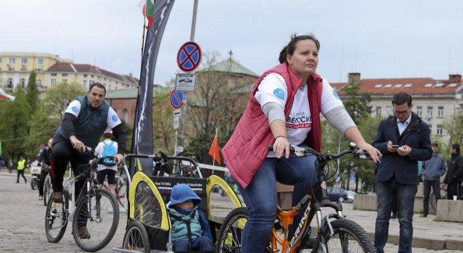 Стотици софиянци караха колело (галерия)