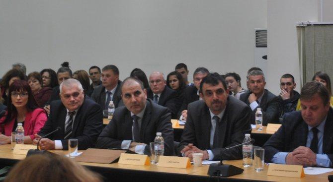 Цветан Цветанов: Трябват общи политики за справяне с миграционния натиск (снимки)