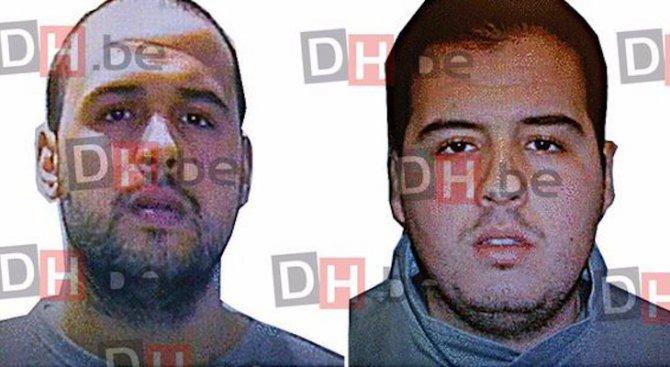 """""""Ислямска държава"""" обяви, че братята Бакрауи стоят зад брюкселските и парижките атаки"""