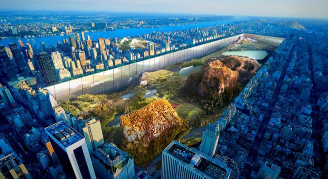 """Потапят"" Central Park на 30 метра в земята?"