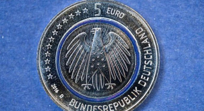 Пускат монета от 5 евро