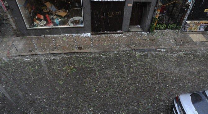 Дъждове и гръмотевични бури до Цветница