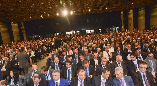 Никой от посолството на Турция не дойде на IX Национална конференция на ДПС (снимки)
