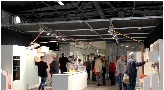Започват най-големите изложения за мебелната индустрия Техномебел и Светът на мебелите