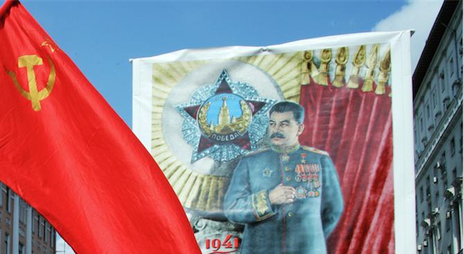Десетки билбордове, възхваляващи Сталин, се появиха в руски град