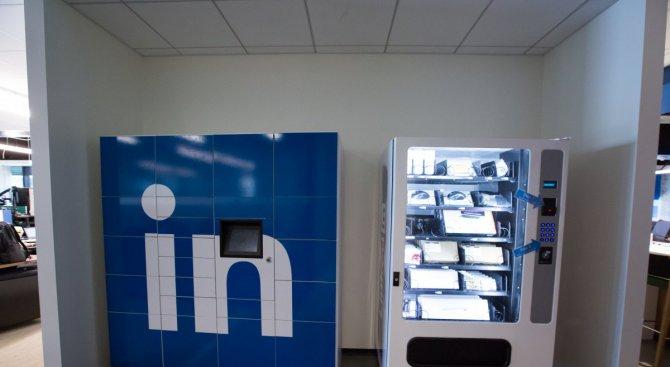 Офисът на LinkedIn в Сан Франциско