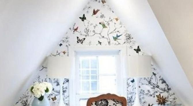 Прекрасни тапети за малки пространства
