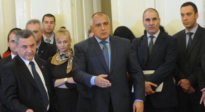 Борисов и коалиционните партньори: Правителството е стабилно (видео)