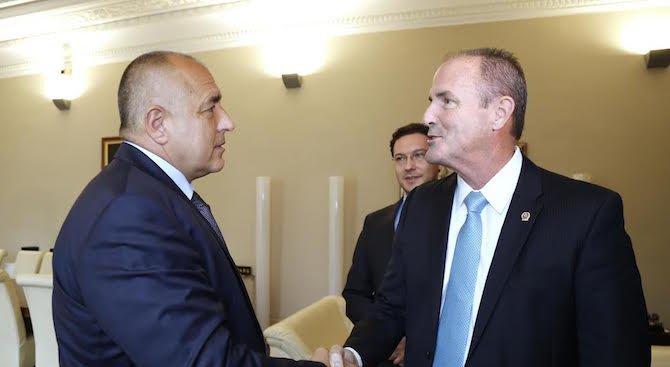 Борисов се срещна с представители на Международната асоциация на полицейските началници (снимки)