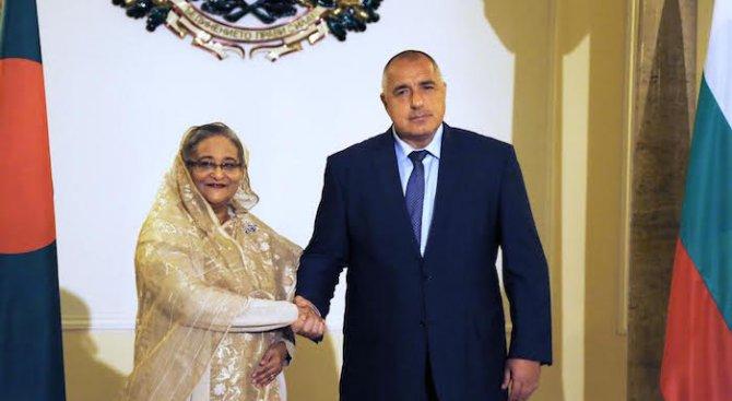 Борисов се срещна с премиера на Бангладеш (снимки)