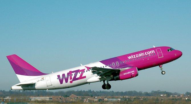 Wizz Air пуска полети до три нови дестинации от Летище София