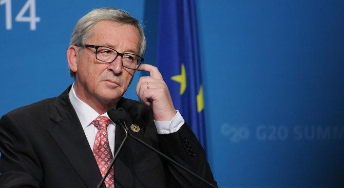 Юнкер: ЕС би трябвало да може да приеме 2 млн. бежанци