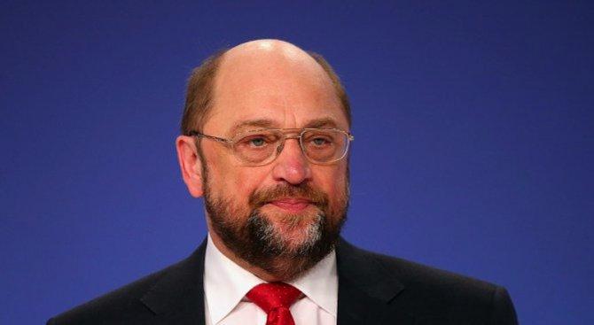 Шулц: Турция трябва да започне възможно по-скоро да изпълнява условията на ЕС