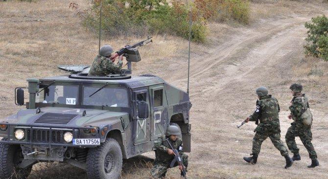 """Армията продължава да подпомага """"Гранична полиция"""" в охраната на границата с Гърция"""
