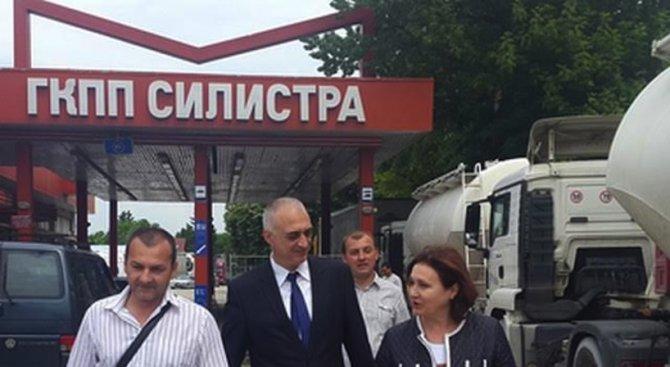 Бъчварова посети ОДМВР - Силистра (снимки)